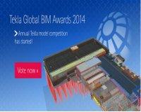 Tekla Global BIM Awards 2014 mở cổng bình chọn