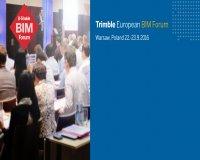 Diễn đàn Trimble BIM châu Âu 2016 – Trimble European BIM Forum 2016