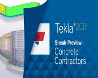Hội thảo Tekla trực tuyến (Số đặc biệt): Buổi giới thiệu trước khi phát hành chính thức Tekla Structures 2017 dành cho Concrete Contractor